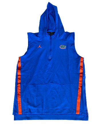 Nick Oelrich Florida Football Team Exclusive Sleeveless Hoodie (Size L)