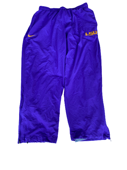 Garrett Brumfield LSU Football Team Issued Sweatpants (Size XXXL)