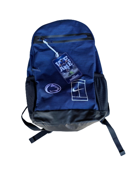 Jake Zembiec Penn State Football Team Exclusive Backpack with Player Tag