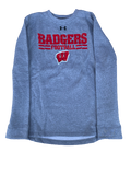 Zach Hintze Wisconsin Team Issued Crewneck Sweatshirt (Size L)