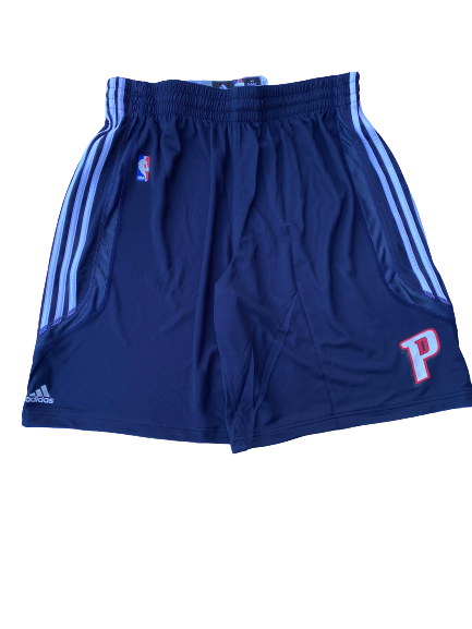 Kyle Singler Detroit Pistons Practice Shorts - New with Tags (Size XXXL)