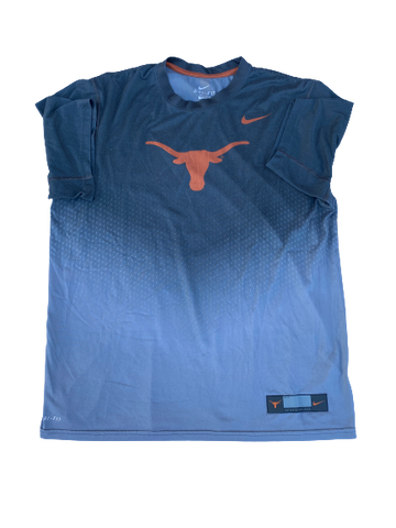 Dylan Haines Texas Football Team Exclusive Workout Shirt (Size L)