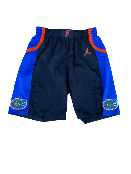 Scottie Lewis Florida Basketball 2019-2020 Season Game-Worn Shorts (Size 36)(Photo Matched)