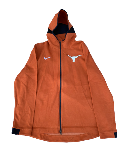 Blake Nevins Texas Basketball Team Issued Full-Zip Warm-Up Jacket (Size XL)