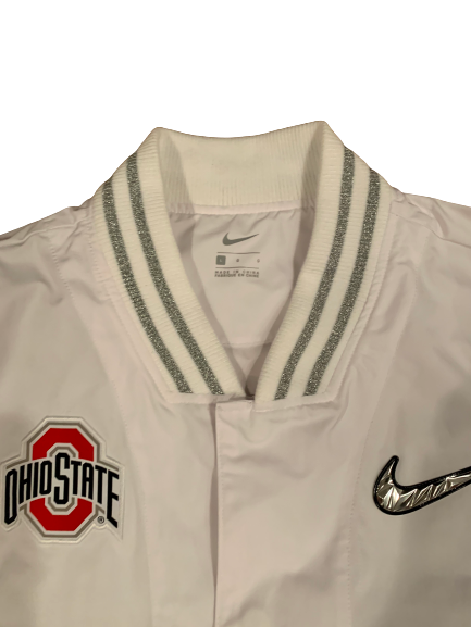 Zach Hoover Ohio State Football PE College Football Playoff (CFP) Full Zip Jacket (Size L)