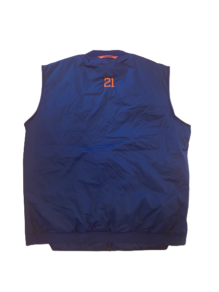 Marek Dolezaj Syracuse Basketball PE Vest with #21 (Size XL)