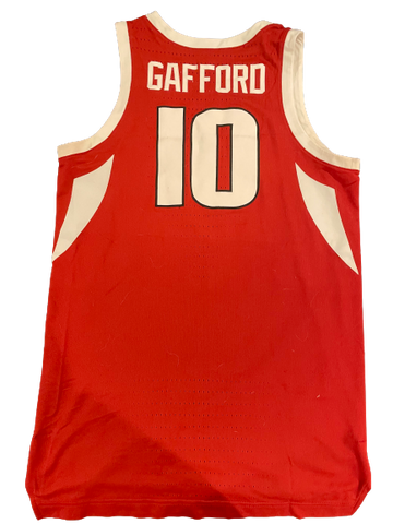 Daniel Gafford 2018-2019 Arkansas Basketball Game Worn Jersey (Photo Matched)
