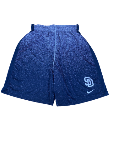 Hunter Jarmon San Diego Padres Team Issued Workout Shorts (Size L)