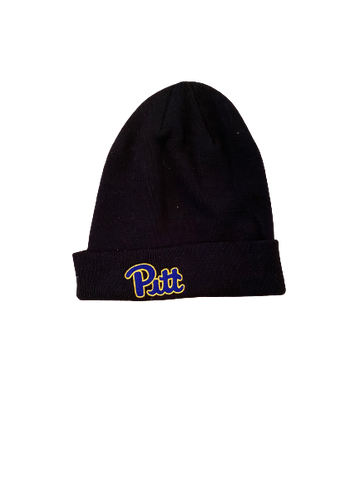 D.J. Turner Pittsburgh Football Team Issued Beanie Hat