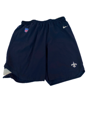 Shane Smith New Orleans Saints Team-Issued Shorts (Size XL)
