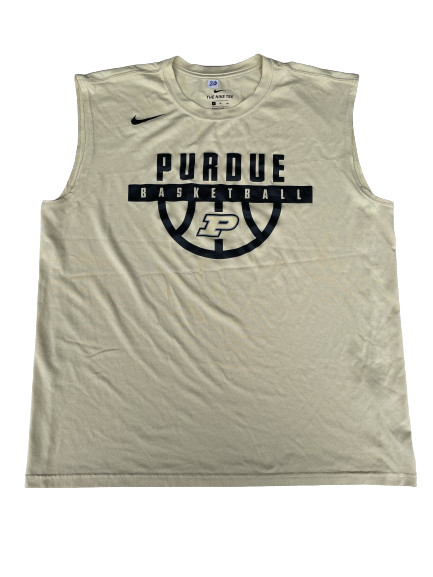 Nojel Eastern Purdue Basketball Team Issued Workout Tank (Size XL)
