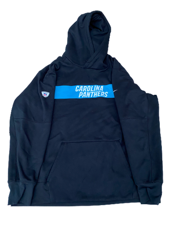 Jalen Jelks Carolina Panthers Team-Issued Sweatshirt (Size XXL)
