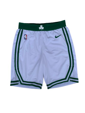 Tremont Waters Boston Celtics Game Worn Shorts (Size 36)