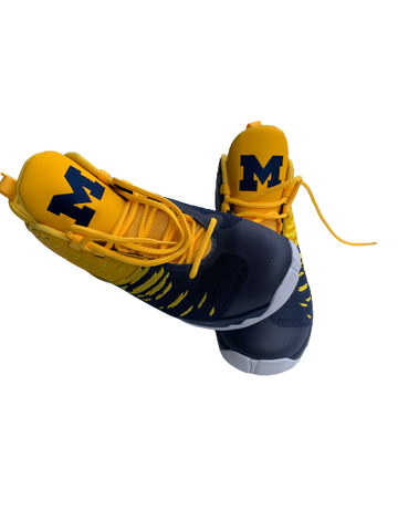 Kayla Robbins Michigan Basketball PE Jordan Super.Fly 5 (Men's Size 9.5)