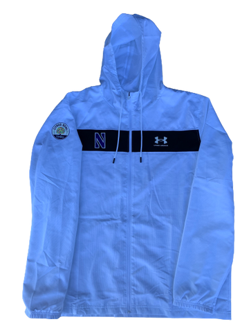 Gunnar Vogel Northwestern Citrus Bowl PE Full Zip Jacket (Size XXL)