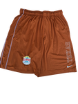 Dylan Haines Texas Football Team Exclusive Alamo Bowl Shorts (Size L)