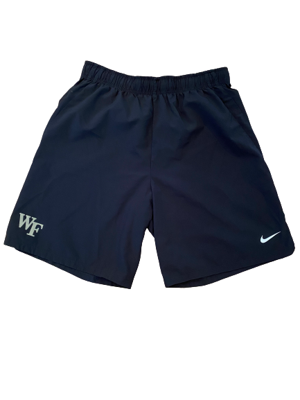 Kendall Hinton Wake Forest Football Team Issued Shorts (Size L)