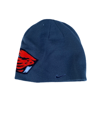Hunter Jarmon Oregon State Team Issued Beanie Hat