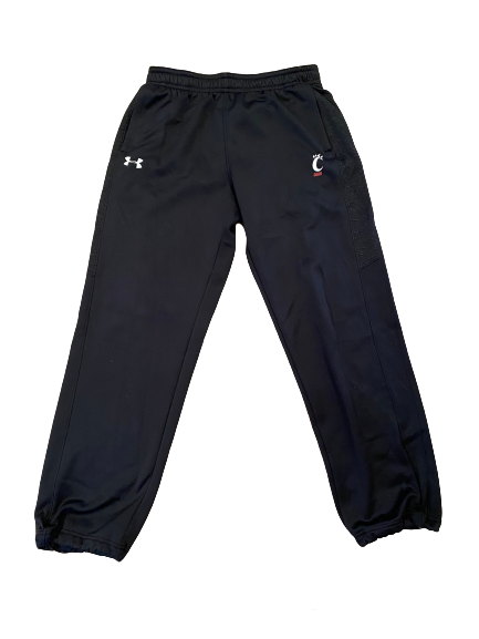 Gerrid Doaks Cincinnati Football Under Armour Sweatpants (Size L)