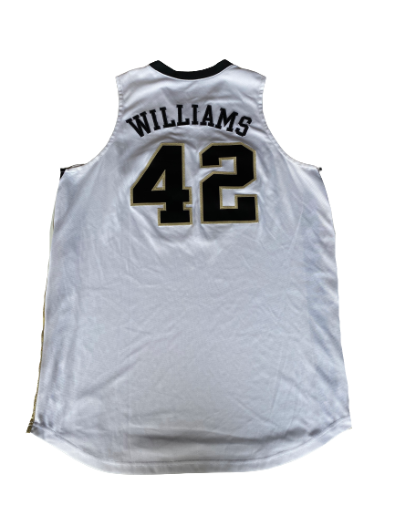 L.D. Williams Wake Forest Basketball Game Worn Jersey (Size 50)