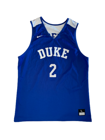 Gary Trent Duke Basketball Practice Jersey (Size L)