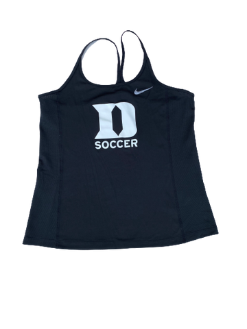 Imani Dorsey Duke Soccer Team Issued Tank (Size Women's M)