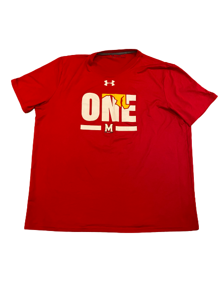 Shaq Smith Maryland Football Under Armour T-Shirt (Size XL)