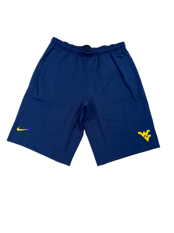 Austin Kendall West Virginia Nike Sweat Shorts (Size XXL)