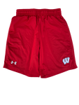 Zach Hintze Wisconsin Team Issued Workout Shorts (Size M)