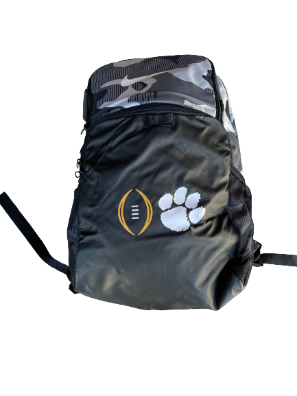 Patrick McClure Clemson Football Team Exclusive College Football Playoff Backpack