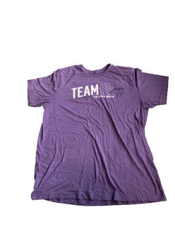 "Tyler Hoppes Minnesota Vikings ""Team Up"" T-Shirt (Size XL)"