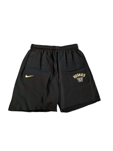 Taylor Rapp Washington Football Team Issued Sweat Shorts (Size L)