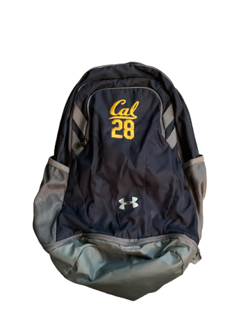 Quentin Tartabull California Football Team Issued Backpack