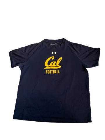 "Quentin Tartabull California Football Team Issued ""Come Earn It"" Workout Shirt (Size L)"