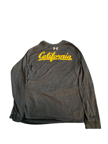 Quentin Tartabull California Football Team Issued Long Sleeve Shirt (Size L)