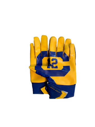 Quentin Tartabull California Football Player Exclusive Football Gloves