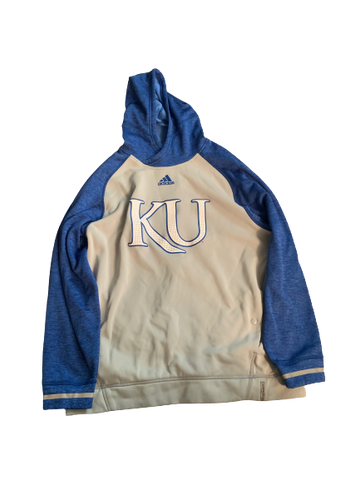 Carter Stanley Kansas Team Issued Sweatshirt (Size XL)
