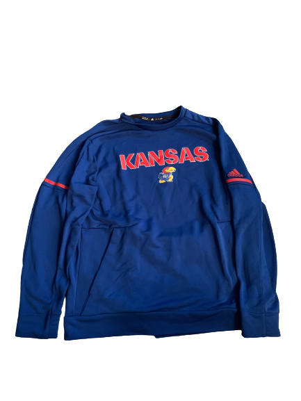 Carter Stanley Kansas Team Issued Crewneck Sweatshirt (Size XL)
