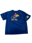 Carter Stanley Kansas Football Team Exclusive T-Shirt with Quote on Back (Size XL)