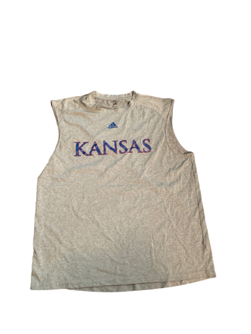 Carter Stanley Kansas Team Issued Sleeveless Shirt (Size XL)