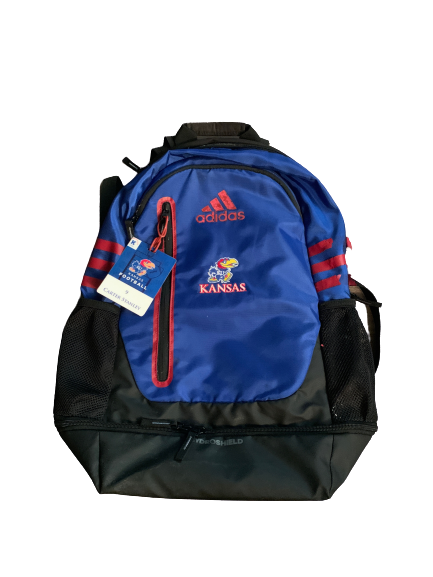 Carter Stanley Kansas Team Issued Backpack with Travel Tag