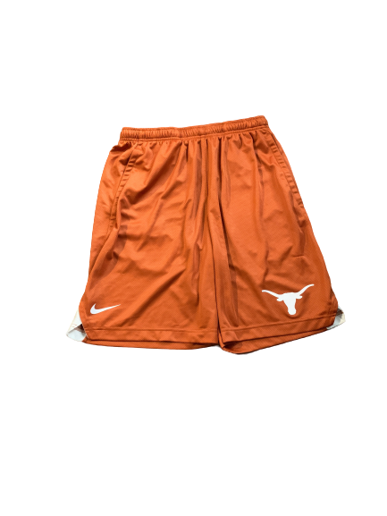 Kerwin Roach Texas Basketball Team Issued Workout Shorts (Size M)