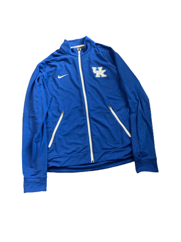 David Bouvier Kentucky Team Issued Full-Zip Jacket (Size L)