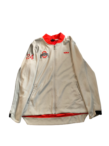 Andre Wesson Ohio State Team Issued Jacket with Number on Sleeve (XL)