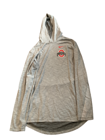 Andre Wesson Ohio State Team Issued Sweatshirt (Size LT)