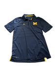 Michigan Basketball Jordan Polo Shirt (Size L)