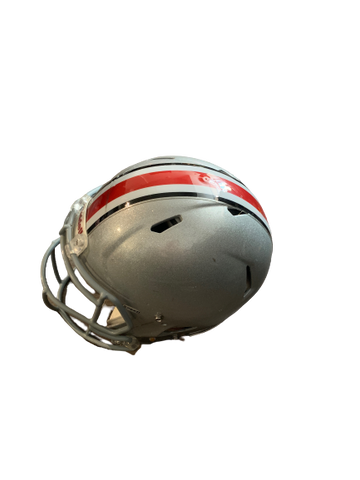 Jalin Marshall Ohio State 2015 Worn Helmet