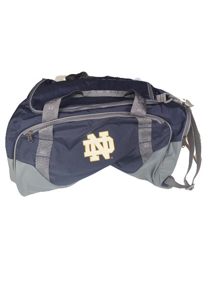 Arike Ogunbowale Notre Dame Team Issued Travel Duffel Bag