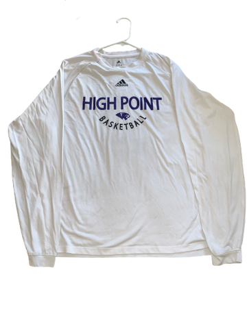 Jamal Wright High Point Basketball Long Sleeve Shirt (Size M)