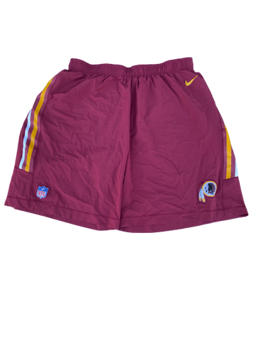 Kendall Calhoun Washington Redskins Team-Issued Shorts (Size XXXL)